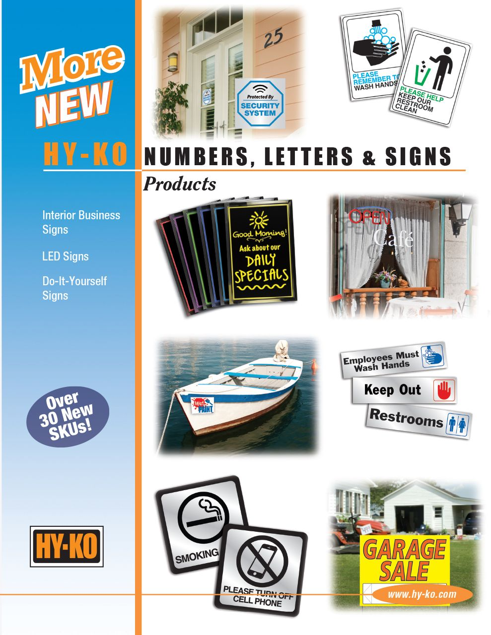 More New Numbers, Letters, and Signs