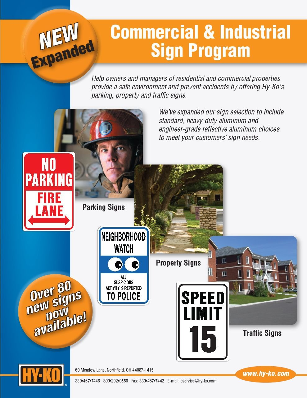 Commercial & Industrial Sign Program
