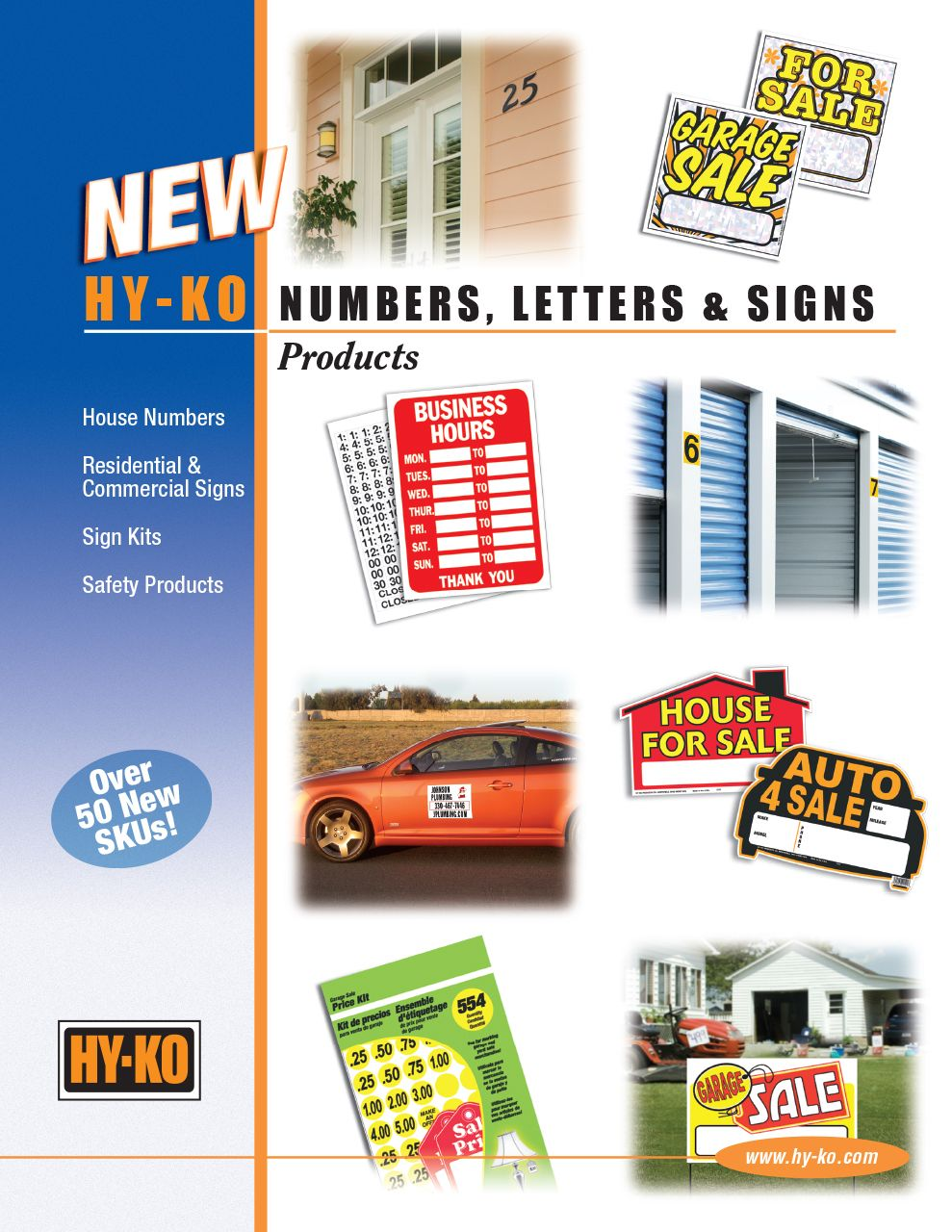 New Numbers, Letters, and Signs
