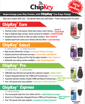 ChipKey Sell Sheet